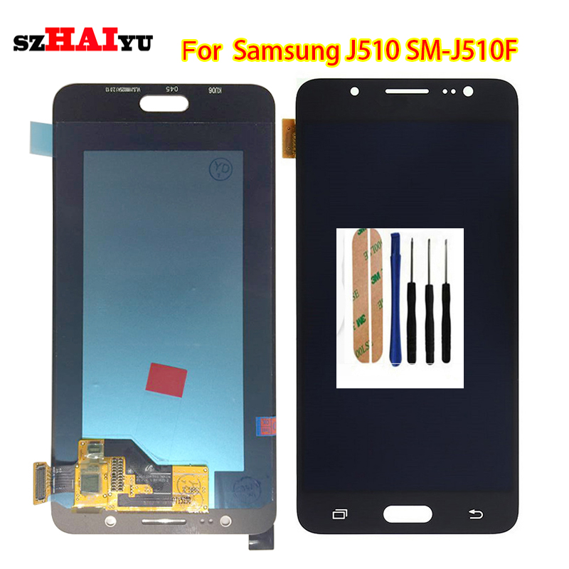 szHAIyu Tested  OLED AMOLED LCD Display+Touch Screen For Samsung Galaxy J5 2016 J510FN J510F J510G J510Y  LCD DisplayszHAIyu Tested  OLED AMOLED LCD Display+Touch Screen For Samsung Galaxy J5 2016 J510FN J510F J510G J510Y  LCD Display