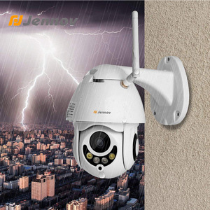 Image 2 - Jennov PTZ IP מצלמה 1080P 2MP HD Wifi חיצוני אבטחת מצלמה Wi Fi עם ראיית לילה אלחוטי טלוויזיה במעגל סגור עבור בית וידאו מעקב