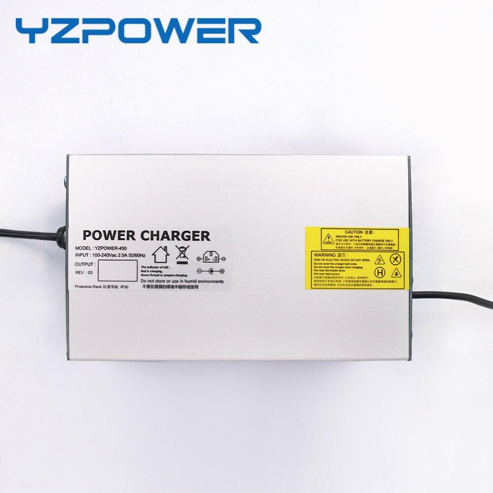 YZPOWER Toy Car Li-ion Lipo Lithium Battery Charger 84V 6A 7A 8A 9A 10A With CE FCC 24s lipo li ion lithium battery charger 100v 100 8v 5 6amp 600w aluminum electric vehicle charger