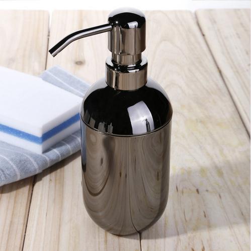 Empty Hand sanitizer bottles stainless steel soap dispenser black shampoo shower gel lotion bottle emulsion pump container stainless steel fish shape hand odor remover soap