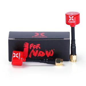 Image 5 - Original Foxeer Lollipop 2 V2 antena 5,8G 2.3Dbi TX RX RHCP FPV SMA RPSMA UFL recto ángulo/MMCX FPV antena para RC Drone