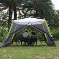 Automatic Ultralarge 300*300*210CM 5 8 Person Anti mosquito Camping Tent Large Gazebo Sun Shelter