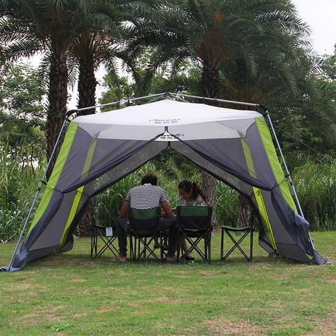 automatico ultralarge 300 300 210 cm 5 8 pessoa anti mosquito barraca de acampamento grande
