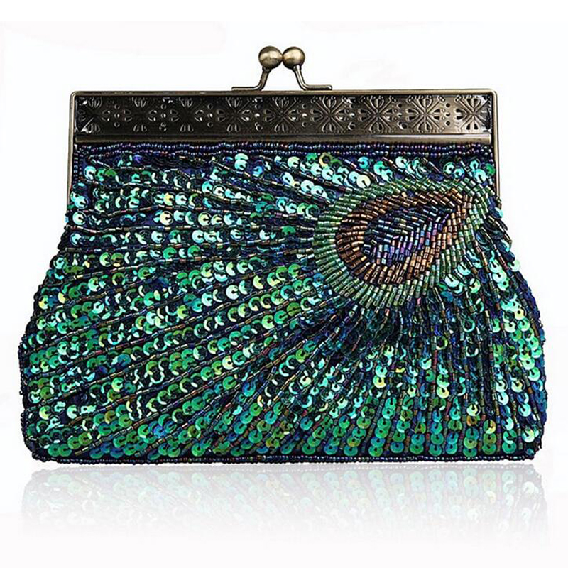 Patterns vintage beaded purse Knitted Bead