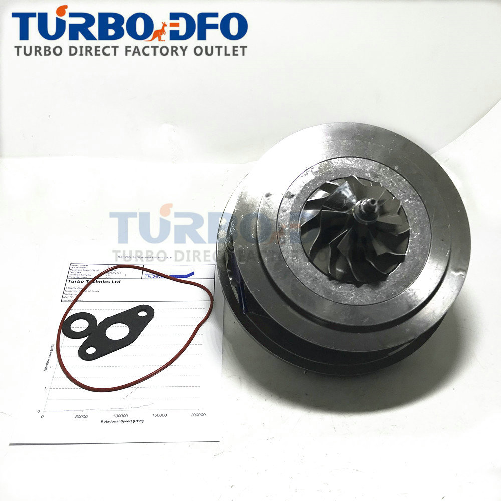 Turbine parts 762060 762060-1 turbo charger 36002651 core CHRA for Volvo C30 2.4 D5 163-180HP 120-132Kw I5D 2006- <font><b>GTB2056V</b></font> image