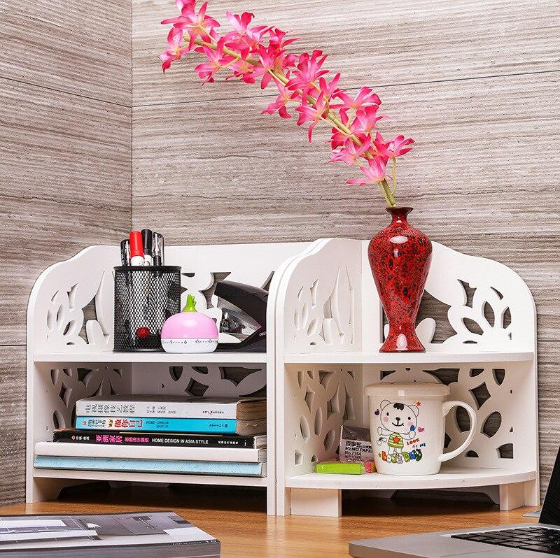 Office desktop bathroom counter corner square shelf environmental protection tripod height 30 cm