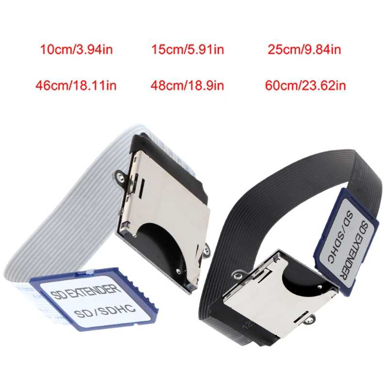 SD Adaptador Macho para Fêmea SD Cabo de Extensão para Impressora 3D Raspberry Pi GPS TV