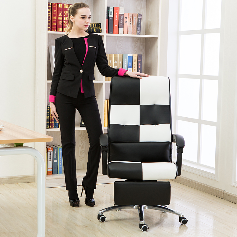 High Quality Ergonomic Executive Office Chair Lying Footrest Computer - Furniture - Photo 3