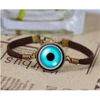 Camera Lens Blue Eye bracelet. Camera bracelets. Camera jewelry. Birthday gift christmas gift,sliver plated
