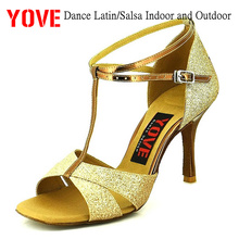 YOVE Style w133-2 Dance shoes Bachata/Salsa Indoor and Outdoor Women's Dance Shoes