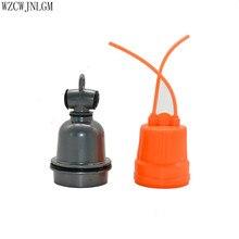 Животное E27 Водонепроницаемая керамическая лампа с изоляцией рта держатель лампы с маленькими тремя звеньями свинья нагревательная лампа культура