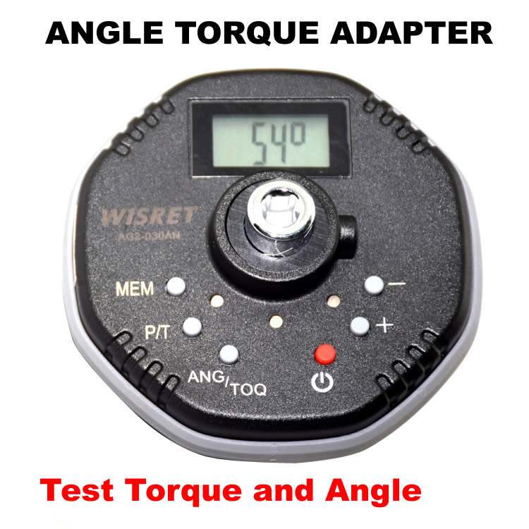 Digital Angle  Torque  Adapter 1.5-340NM Torque Wrench Angle Function Torque Angle Gauge  Auto Repair Professional Torsion Tools
