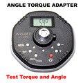 Adaptador de Ângulo de torque Digital 1.5-340NM função Ângulo Medidor de Ângulo de Torque chave de torque Auto Reparo Profissional ferramentas de torção