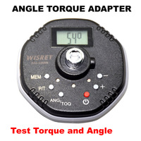 Freeship Multifunction Digital Angle Torque Adapter1 5 30NM 1 4inch Torque Wrench AG2 030AN Test Torque
