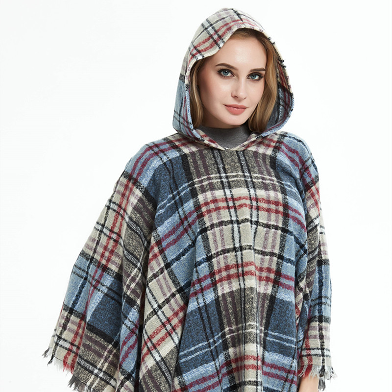 discount Poncho Fashion Natural