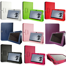 Luxury Litchi Folio stand Pu leather case cover For Samsung Galaxy Tab 2 10.1″P5100 P5110 P7500 P7510 Tablet Accessories M3D63D