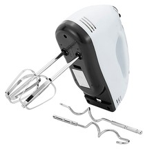 Manual Mini Mixer 7-Speed Adonan Manual Mixer Prosesor Makanan Multi Fungsi (EU Plug)(China)