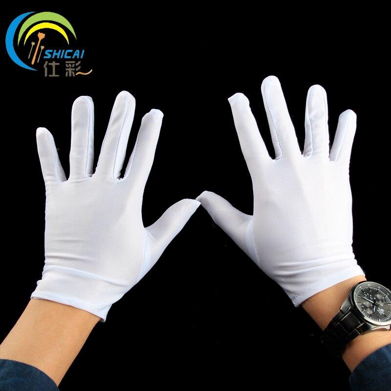 2cabc00d7c 5 par białe rękawiczki rękawice wykonanie magiczne rekwizyty dorosłych  dzieci boże narodzenie przebranie na Halloween rękawiczki dla mężczyzn i  kobiet w 5 ...