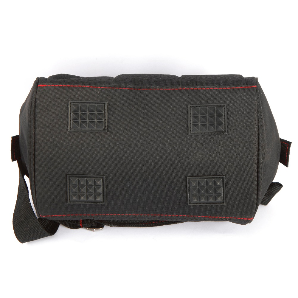 WORKPROツールバッグ600D Close Top Wide Mouth Electrician Bags S - 工具の収納に役立つアイテム - 写真 4