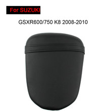 For Suzuki GSXR600/750 K8 2008-2010 Rear Seat Cover Cushion Leather Pillow GSXR600 GSXR750 Motorcycle Passenger