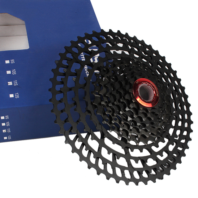 11-50T bicycle freewheel sprockets bike 11 speed cassette mountain bike freewheel sprocket mtb cog 50T cdg 363g hollow Al-alloy