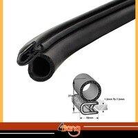 10Metres 18mmx27mm High Quality Universal PVC BLACK Flexible Car Window Door Seal Lok RV Camper Trailer