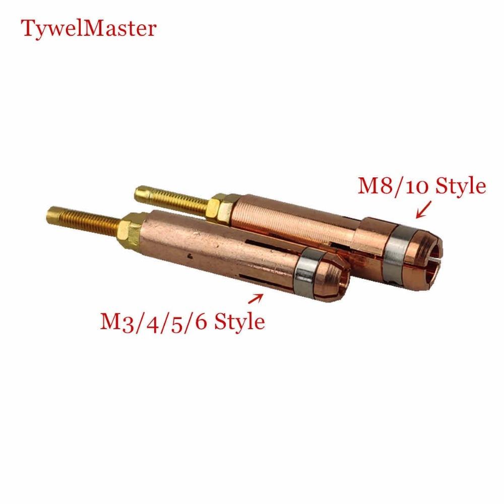 Stud Welding Chuck Collet M3 M4 M5 M6 M8 M10 For Stud Welding Grip