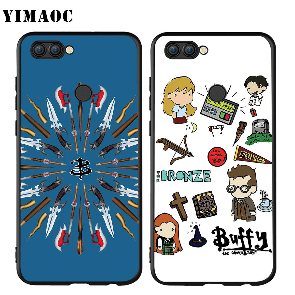 YIMAOC Buffy The Vampire Slayer di Caso per Huawei Mate 10 P8 P9 P10 P20 P30 P Smart Lite Pro Mini 2017
