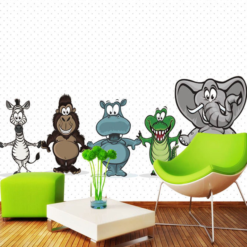 Customize background of video wall mural wall large sofa 3D wallpaper wall poster children room TV background bedroom