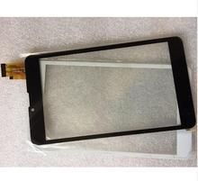 """7 """"Pulgadas Táctil Capacitiva de la Tableta de Reemplazo de Pantalla Para BQ 7010G Max 3G Tablet Digitalizador Del Sensor de pantalla Externa negro Blanco"""