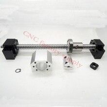SFU1605 установить: SFU1605 С7 проката швп L400mm с конца обрабатываемого + 1605 шариковая гайка + гайка корпус + BK/BF12 конец поддержка муфта