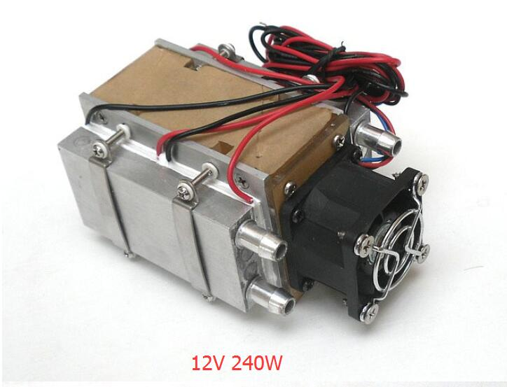 12v electronic air conditioning movement water cooled air conditioner water air conditioner 240w 240w 12v semiconductor refrigeration diy water cooling cooled device air conditioner movement for refrigeration and fan