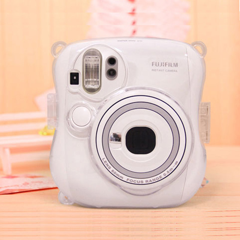 Plastic Clear Crystal Camera Case for Fujifilm Instant Mini 25 Protective Shell Cover image
