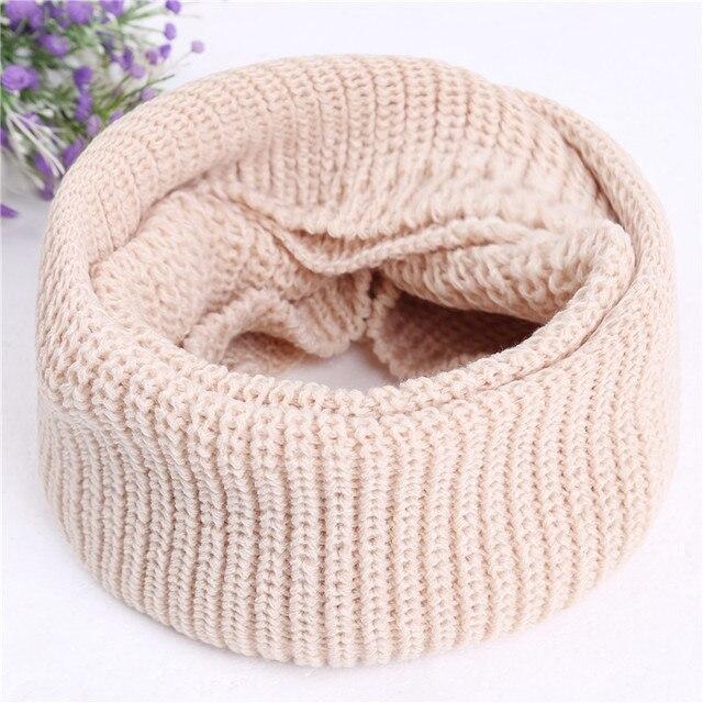 tricoter un snood en rond