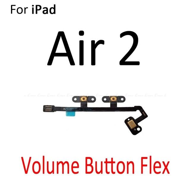 Power ON OFF Mute Switch Control Key Volumen Taste Flex Kabel Für iPad Air 2019 Mini 1 2 3 4 5 ersatz Teile