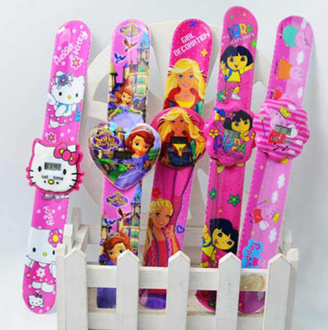Fashion Watch Mickey Children Cartoon Watch Slap Wristwatch Casual Kids Boy Quartz Watch Ceasuri Women Girls Relojes