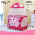 Holycat fabric baby bed tieyi game bed multifunctional baby bed bb paint concentretor child cradle bed
