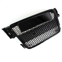 A5 RS5 S5 S Line Black ABS Car Front Mesh Grill Grille For Audi A5
