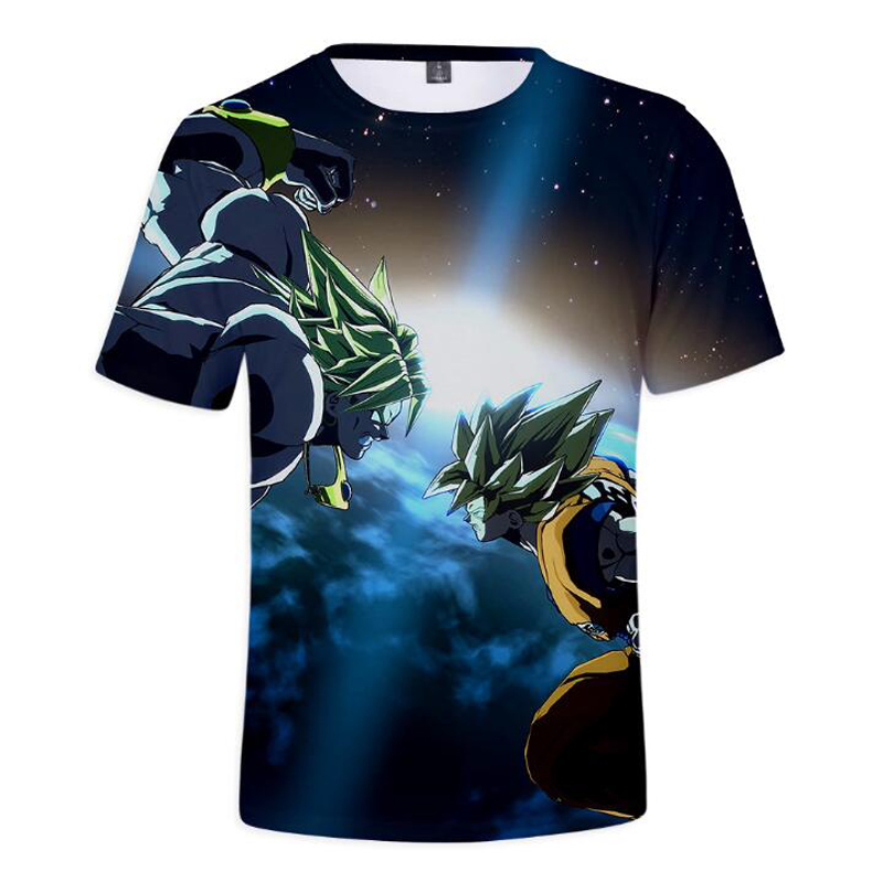 Dragon Ball Z 3D T Shirt Men Summer Fashion DBZ Super Saiyan Goku Short Sleeve Tee Shirt Homme Dragonball Vegeta Funny Tshirt
