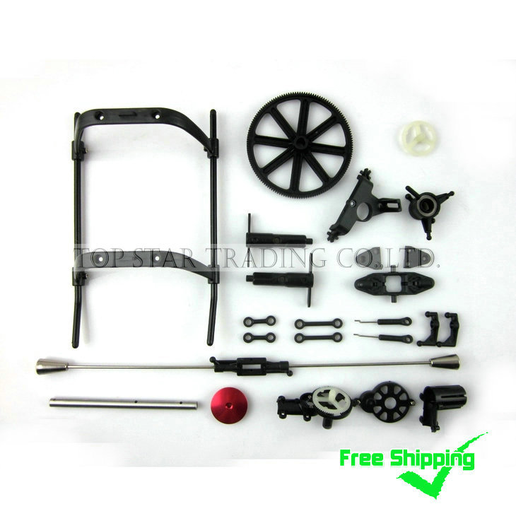 Combo-064 Free Shipping Sales Promotion MJX F45 F645 Spare Parts Accessories Hot Sale Groups  20 IN 1 free shipping 2 4g mjx f45 f645 rc helicopter spare parts the main shaft connect buckle spare parts for mjx f45 f645