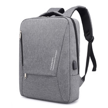 ФОТО men backpack usb charge anti theft male mochila escolar casual for 15.6 in laptop business canvas travel back pack for teens