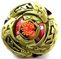 480pcs/lot Rapidity 4D Beyblade Metal Fusion  With launcher L-DRAGO GOLD DF105LRF