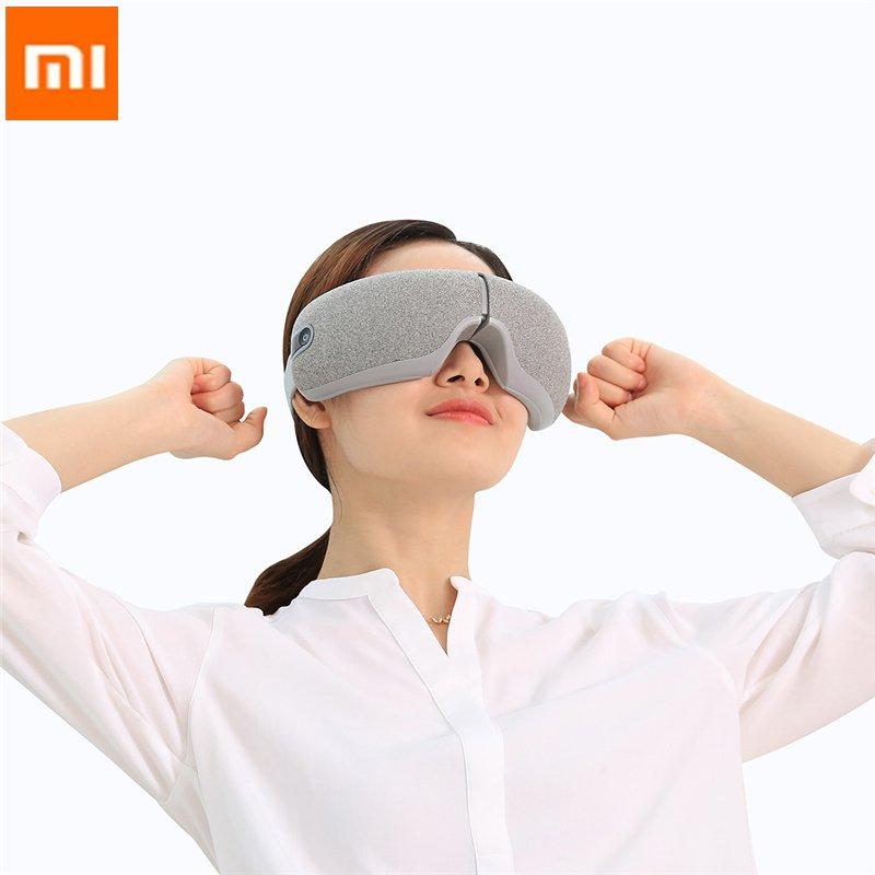 Youpin Momoda 5V 5W 3Modes Rechargeable pliant masseur pour les yeux graphène thermostatique chauffage pétrissage intelligent masque pour les yeux