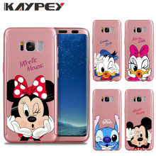 Full Body Protection for Samsung Galaxy S8 S9 Plus S6 S7 Edge Minnie 360 Front Back Cover for Note 3 4 J5 J7 Prime Note8 A8 2018(China)