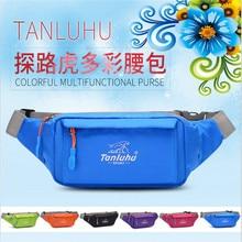 TANLUHU 373 Outdoor Sports Bag Nylon Running Marathon Hiking Waist Pack Kettle Gym Chest For Men Women