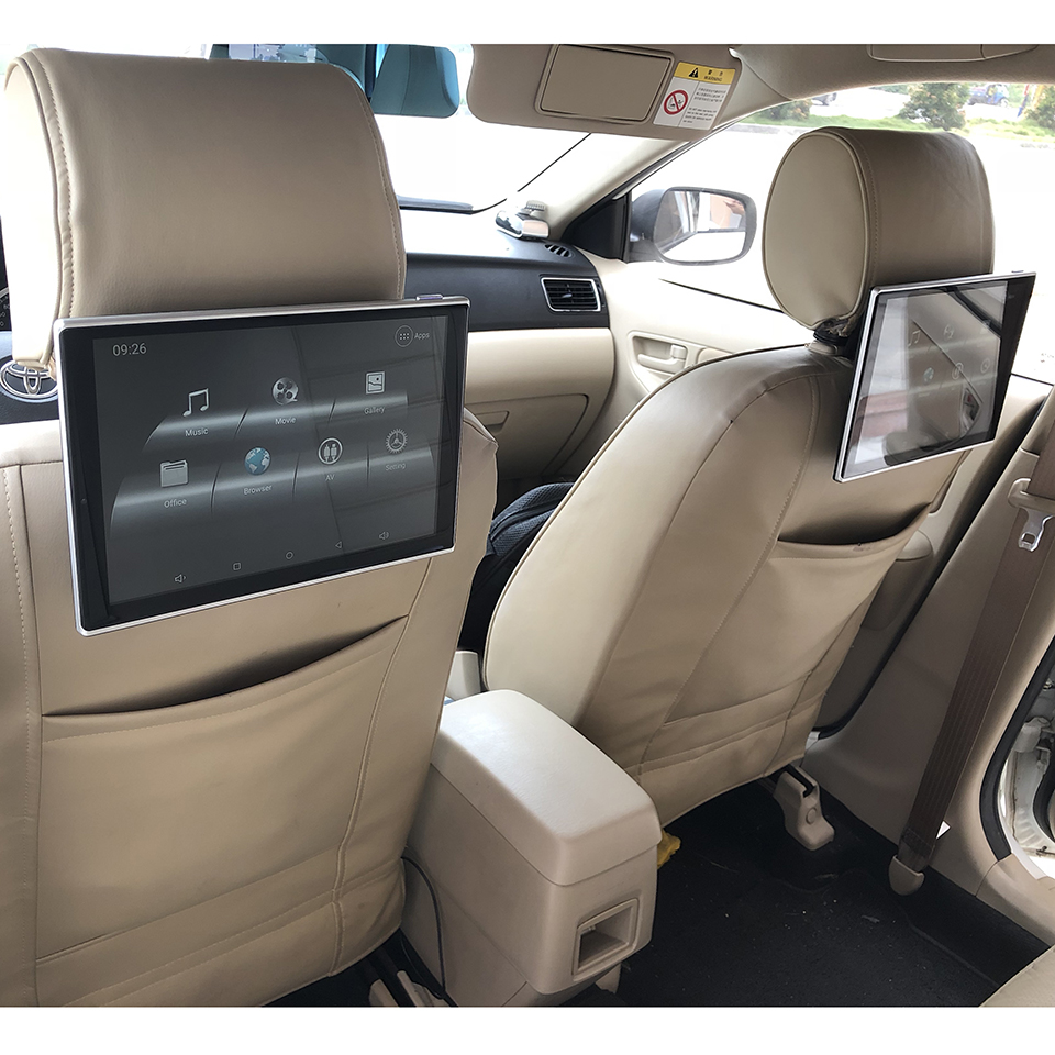 Car Seat LCD TV Screen Android Headrest Monitor For Lexus
