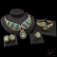 Free Shipping Brazilian Jewelry Designers Accessories For Women Trendy Design Dubai Gold Jewelry Sets