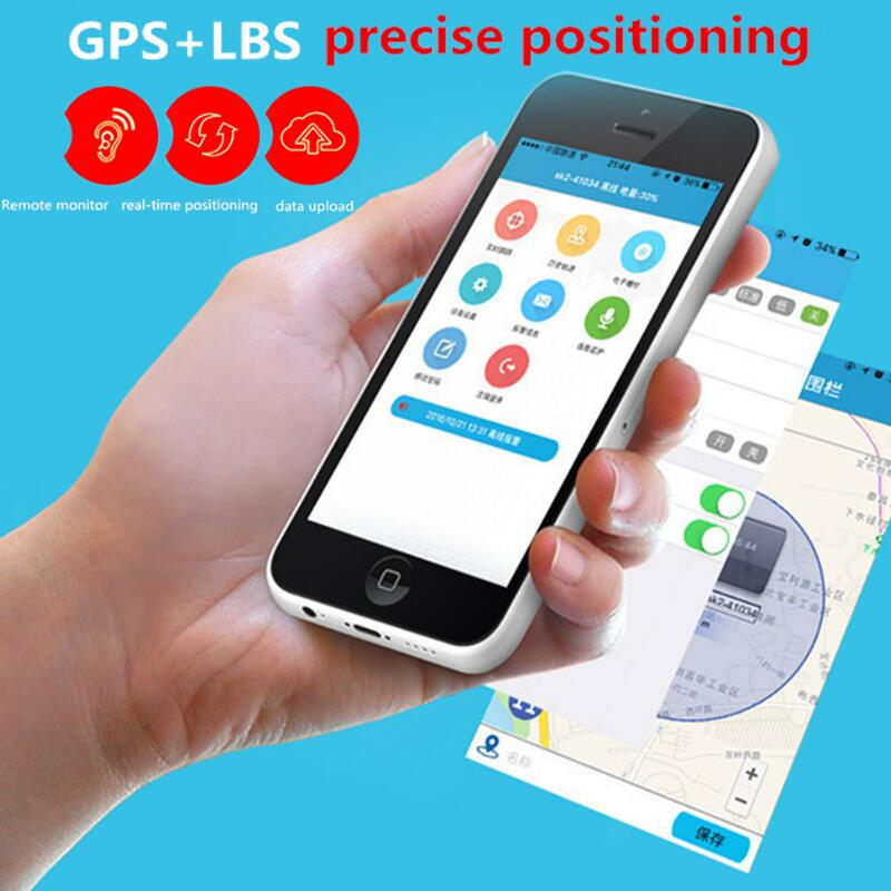Portable Black Mini Car GPS Tracker Anti-theft GPS+LBS Positioning Motorcycle GPS Tracker Pet Locator Real Time Tracking Device mini portable gps locator real time tracker sos communicator with lanyard for car person