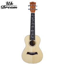 23 inch Acoustic Guitar Ukulele 18 Frets Musical Instruments Four Strings Spruce Okoume Veneer New Arrival Classic Guitar UC-57D