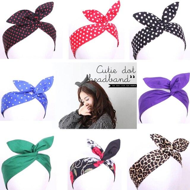 0006,lovely lapin lapin oreille bandeaux accessoires pour rockabilly pin,up  vintage robes dans